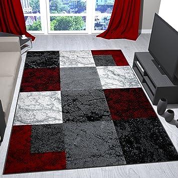 Spomis.com | Moderne Raffrollos Wohnzimmer Wohnzimmer Schwarz Grau Rot