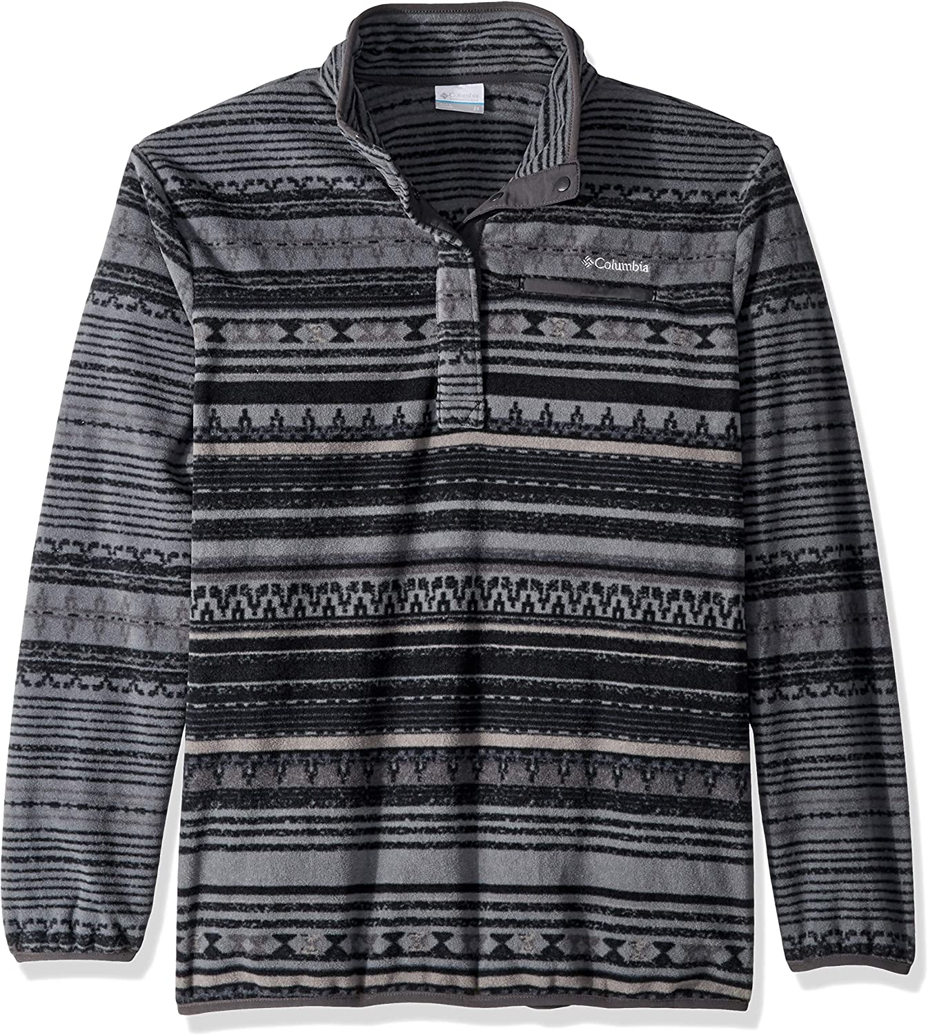 Columbia Womens Size Sweater Season Printed Pull Over Plus