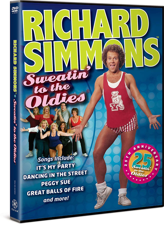 richard simmons 1980s. amazon.com: richard simmons - sweatin\u0027 to the oldies: simmons, e.h. shipley: movies \u0026 tv 1980s