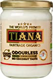 TIANA Fair Trade Organics Pure Virgin Coconut Cooking Butter (Odourless - No Coconut Aroma & Taste) - 500ml