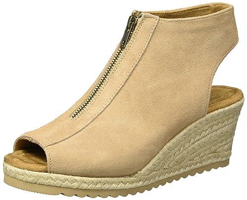 8507faa8437e Skechers Women s Monarchs-Touche Wedge Sandal  Amazon.co.uk  Shoes ...