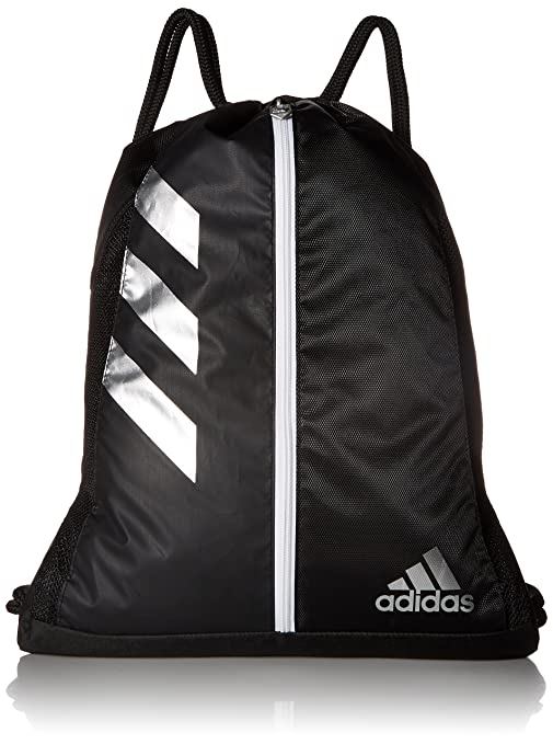 14c101ed65a Amazon.com  adidas Team Issue Sackpack, Black Silver, One Size ...