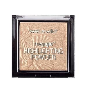 wet n wild MegaGlo Highlighting Powder, Golden Flower Crown, 0.19 Fluid Ounce