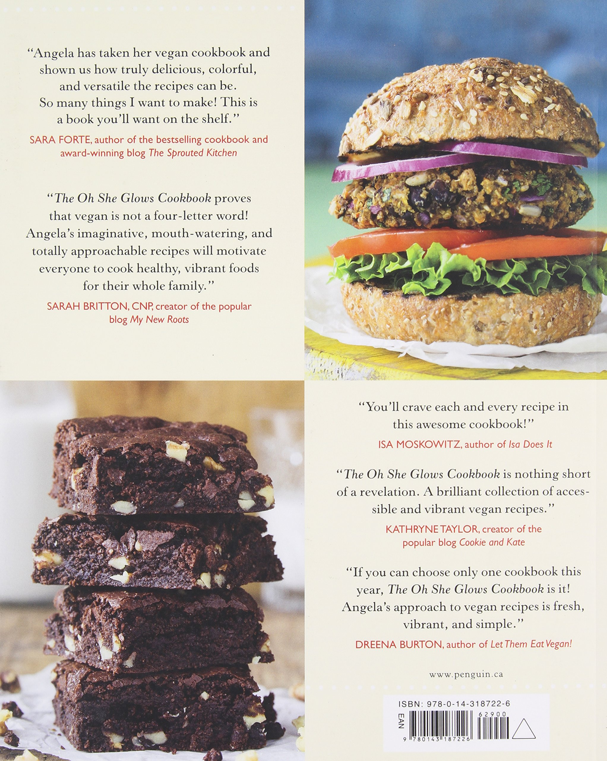 the oh she glows cookbook vegan recipes to glow from the inside