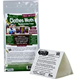 Pro-Pest Clothes Moth Traps - Ready to Use - 1 package of 2 traps