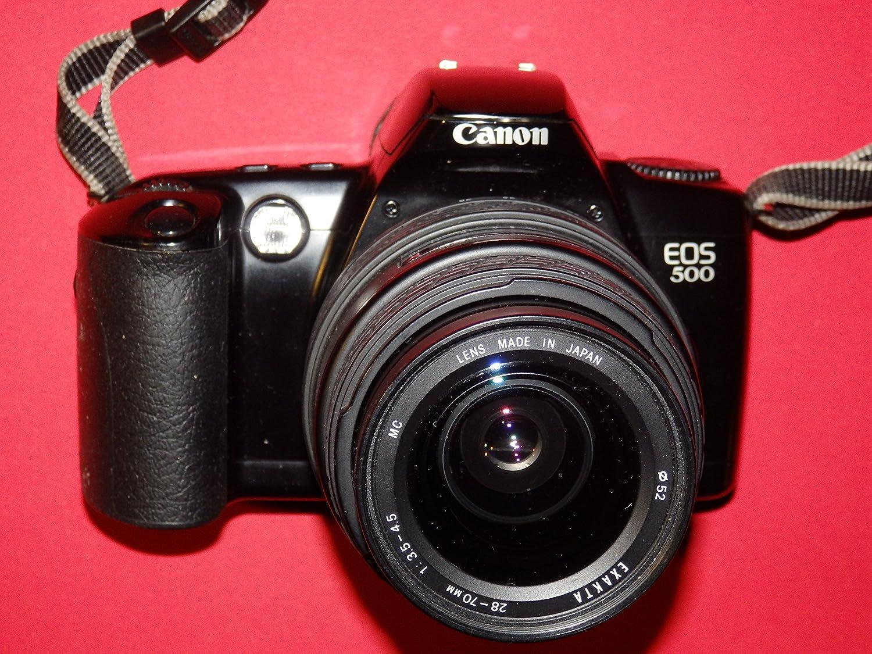 Canon EOS 500 - Cámara réflex analógica - Incluye lente Exakta 28 ...