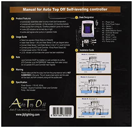 Amazoncom JBJ Automatic Top Off Water Level Controller For - J mike carrelage