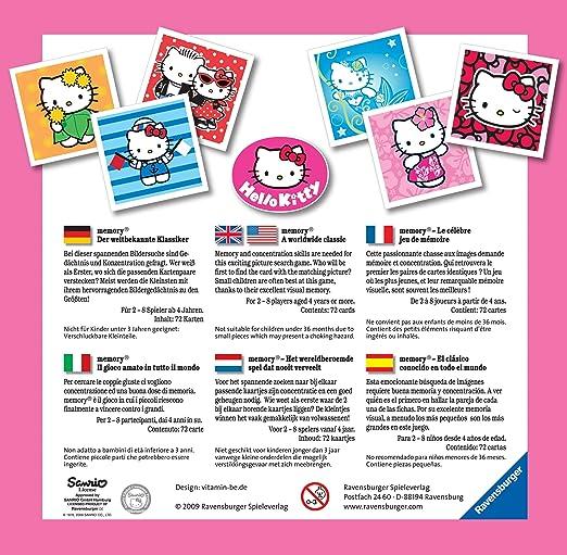 Ravensburger 21982 - Hello Kitty memory®: Amazon.de: Spielzeug