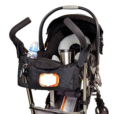 Bolsa para pañales (con compartimentos para cochecito de Angel Baby con bandouliãˆres y bolsillo para toallitas ...