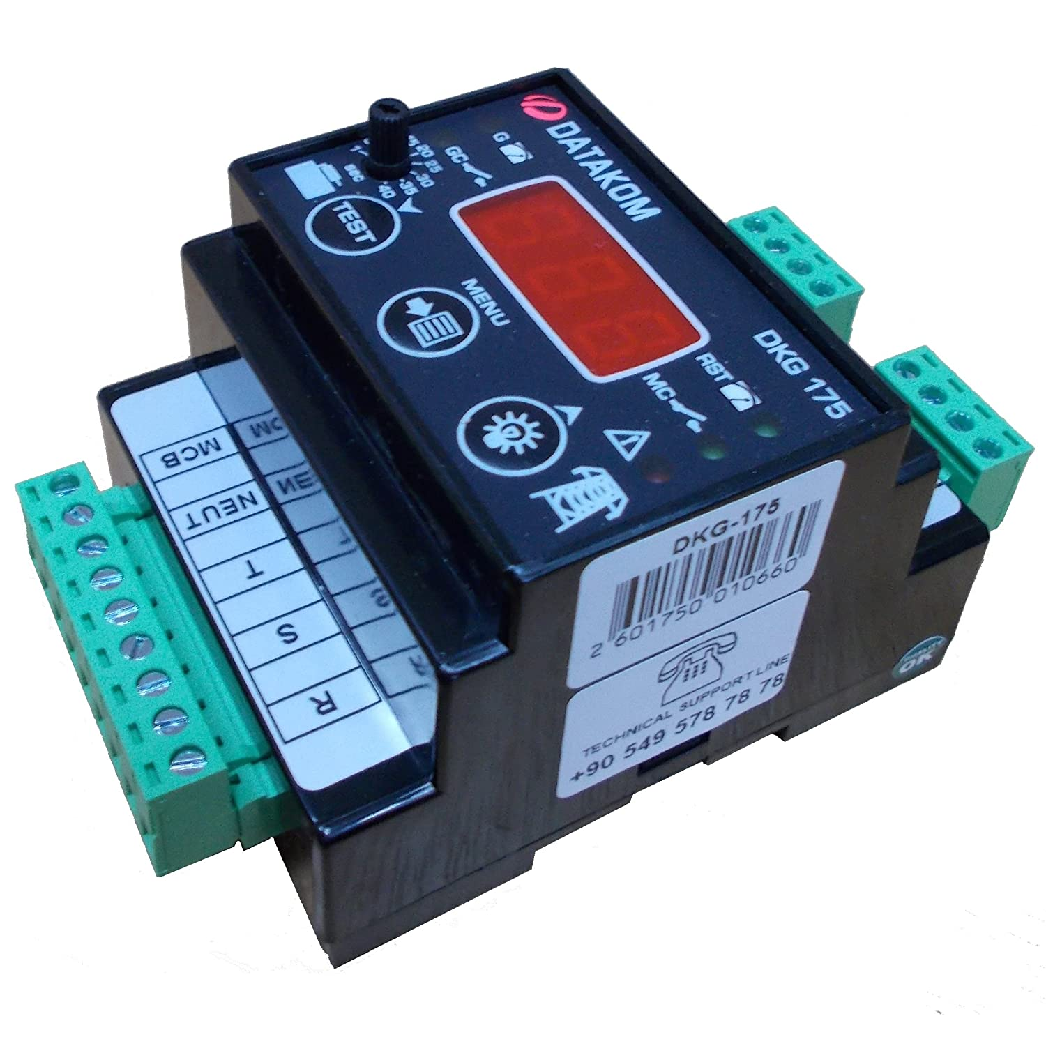 DATAKOM DKG-175 Generator/Mains Automatic Transfer Switch Controller ...