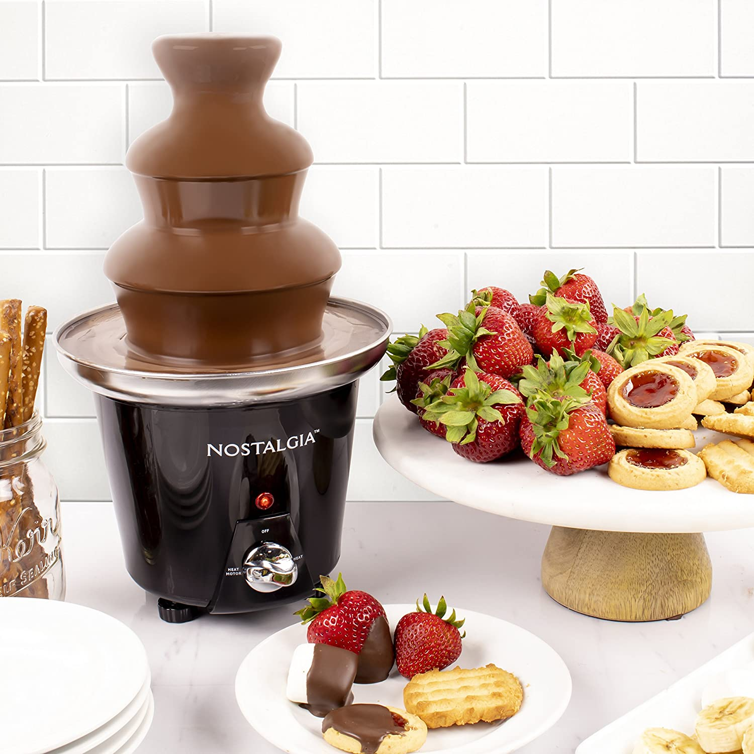 Mini Chocolate Fondue Fountain...
