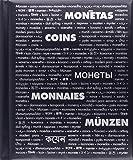 Münzrähmchen Album mit 10 Hüllen für je 20 Kartonrähmchen