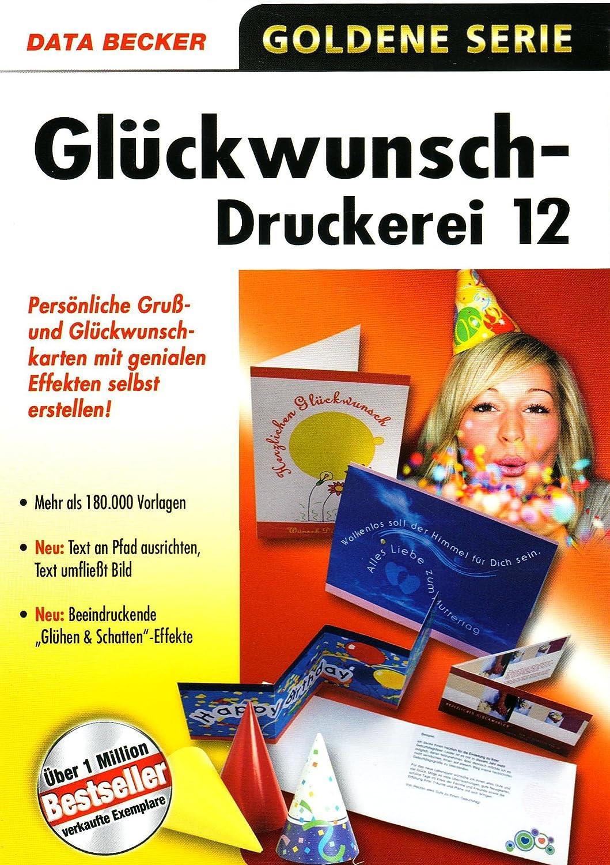 Gluckwunsch Druckerei 12 Amazon De Software