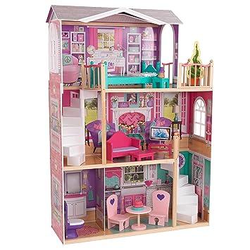 Kidkraft 65830 puppenhaus doll manor für 45 cm große puppen