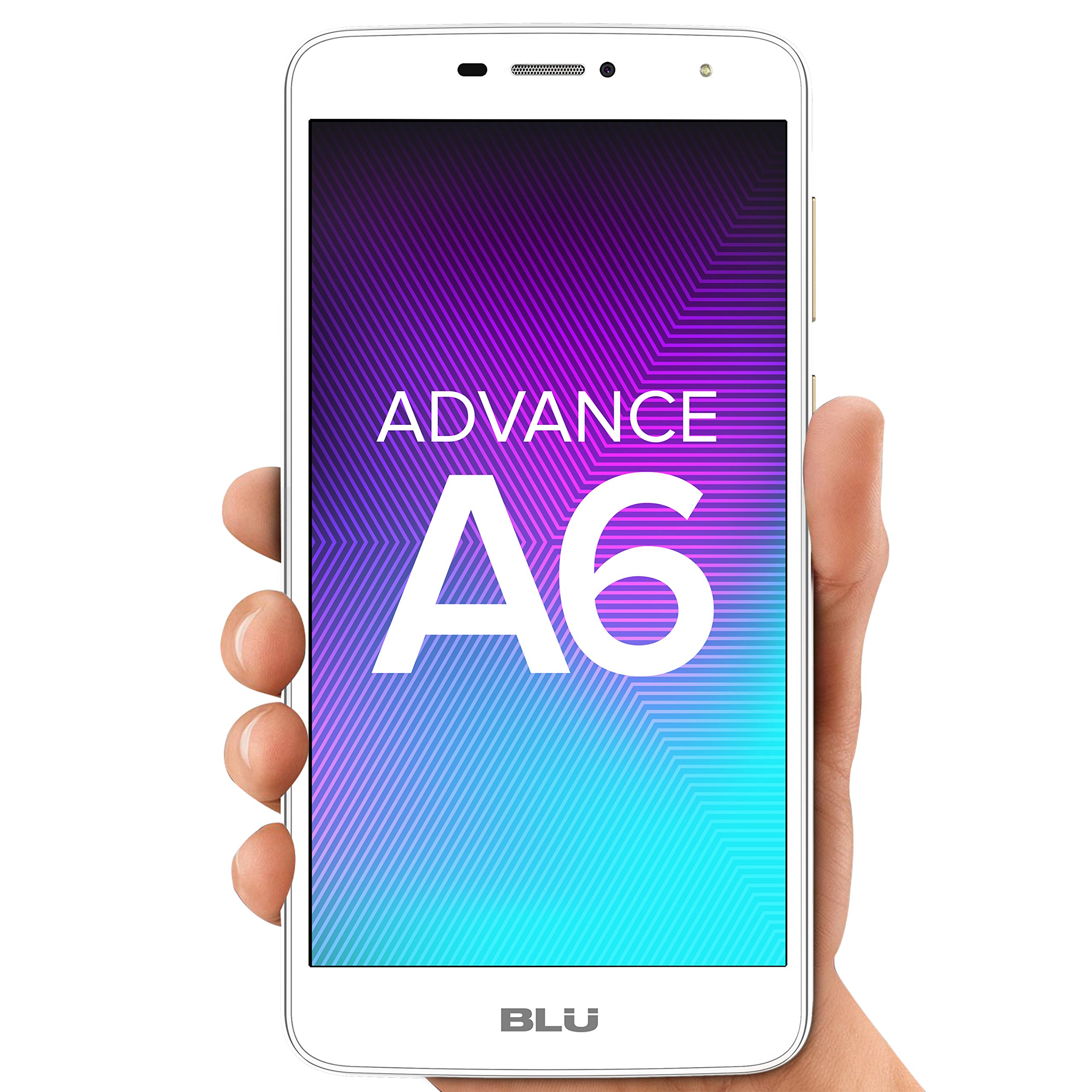 "BLU Advance A6 -Unlocked Dual Sim Smartphone - 6.0"" HD Display - Gold"