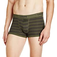 Levi's Bodywear Men's Striped Cotton Trunks