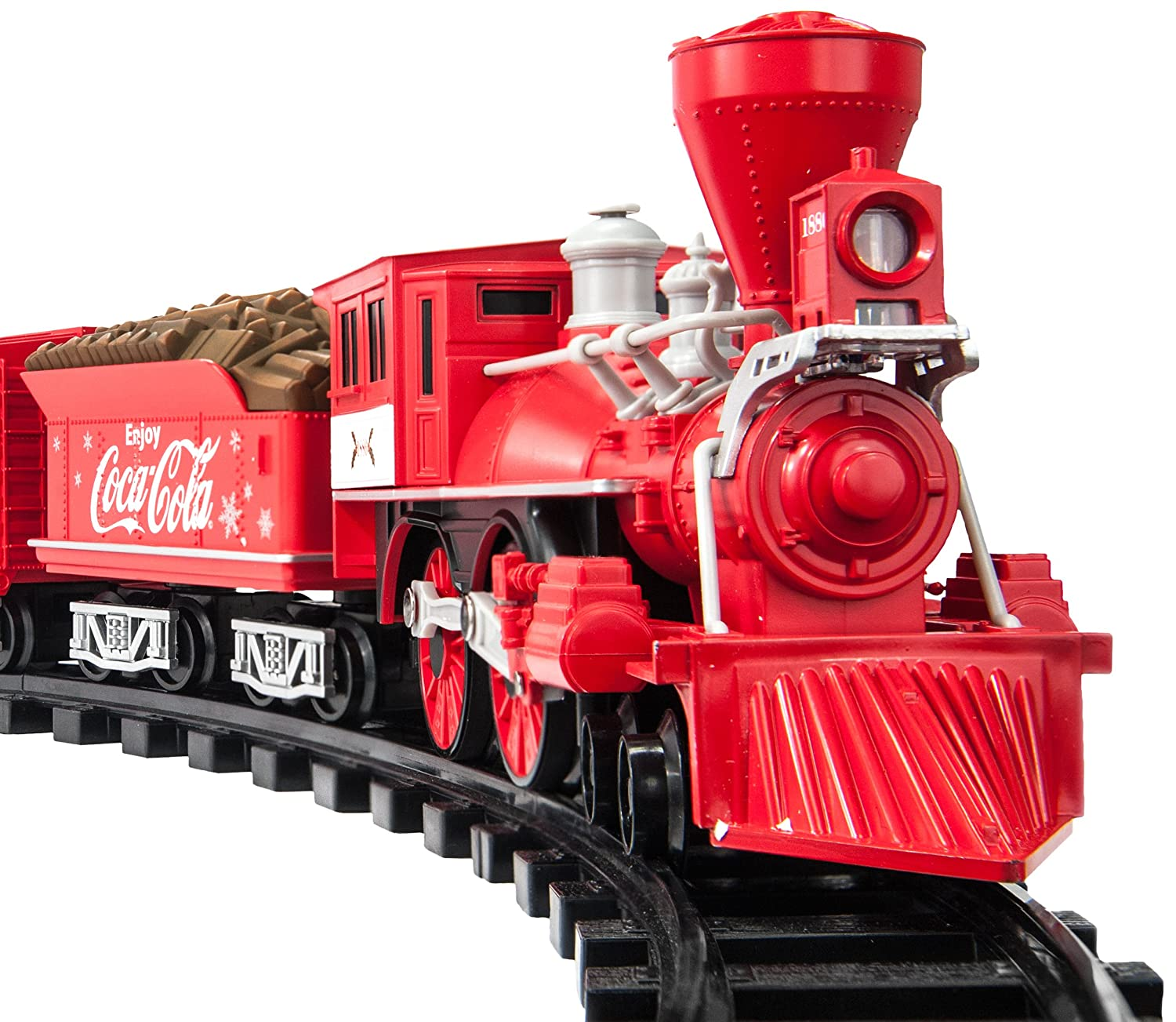 amazoncom lionel trains coca cola holiday g gauge train set toys games