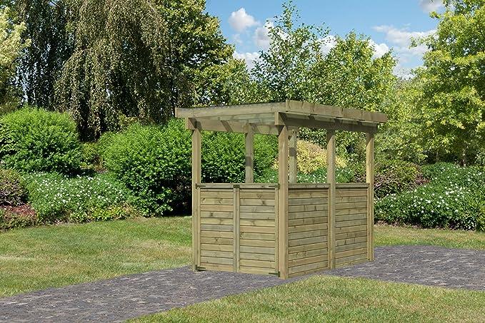 Caseta de jardín madera del Norte tratado 3, 27 m2 KARIBU: Amazon ...