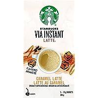 Starbucks Via Instant Caramel Latte, 5 Count