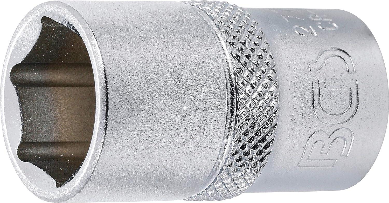 BGS 2779 | SW 15//16 12,5 mm Steckschl/üssel-Einsatz Sechskant 1//2