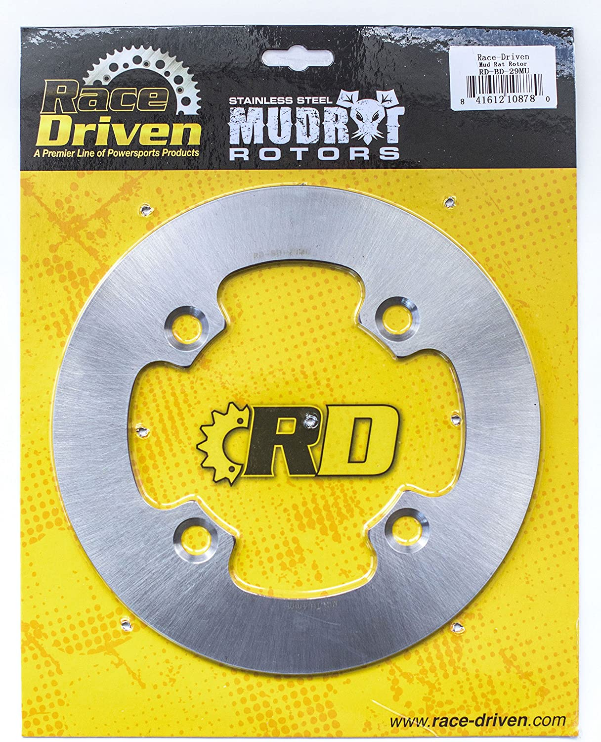 Front MudRat Brake Rotors and Brake Pads 2016 Polaris Ranger Crew XP 900-6 EPS