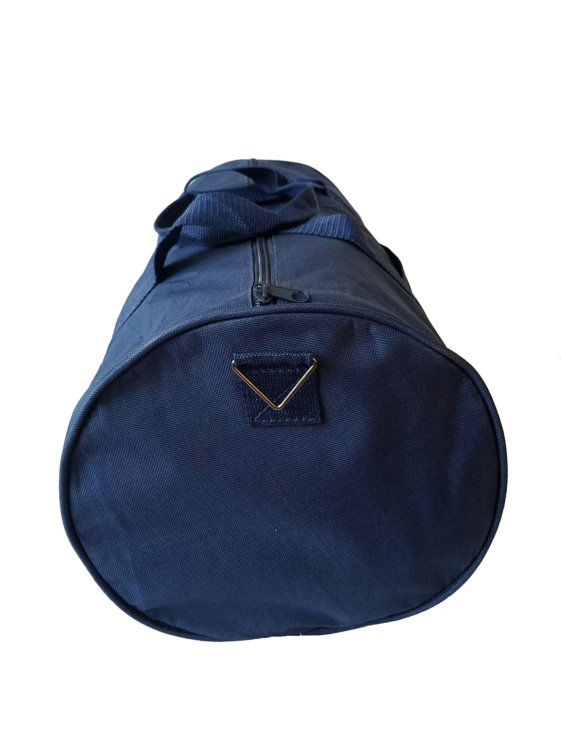 ImpecGear Round Duffel Sports Bags, Travel Gym Fitness Bag. (Navy) by ImpecGear (Image #6)