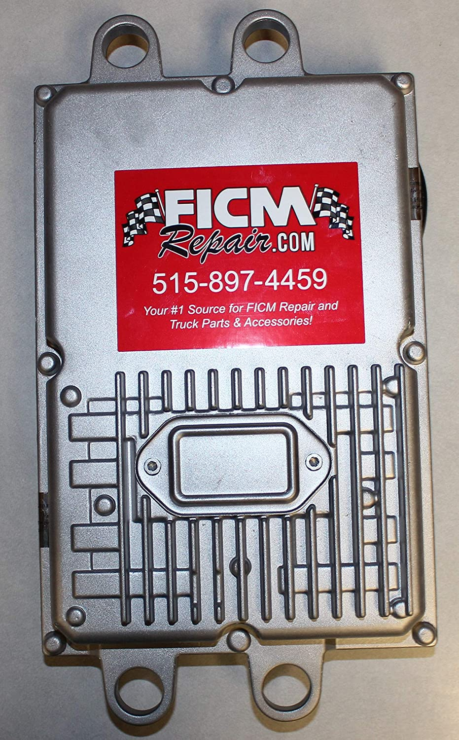 FICMRepair $100 refund for core return, see details Basic Service Remanufactured FICM w//OEM Software for 2003 to early 2004 6.0L Powerstroke Diesel Trucks including 1yr Warranty.