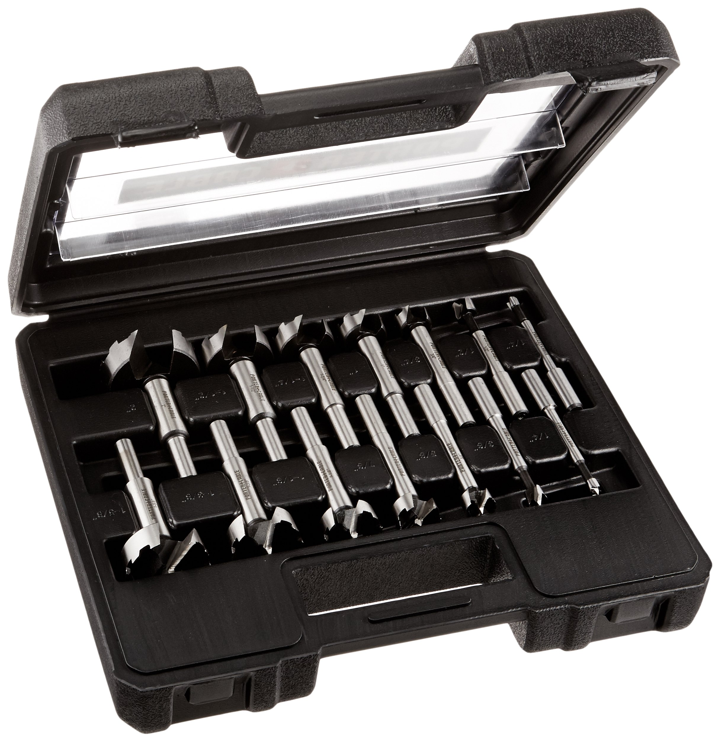 PORTER-CABLE PC1014 Forstner Bit Set, 14-Piece