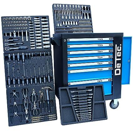 Blue Edition DeTec | Carro taller con 7 cajones - 5 llenos ...