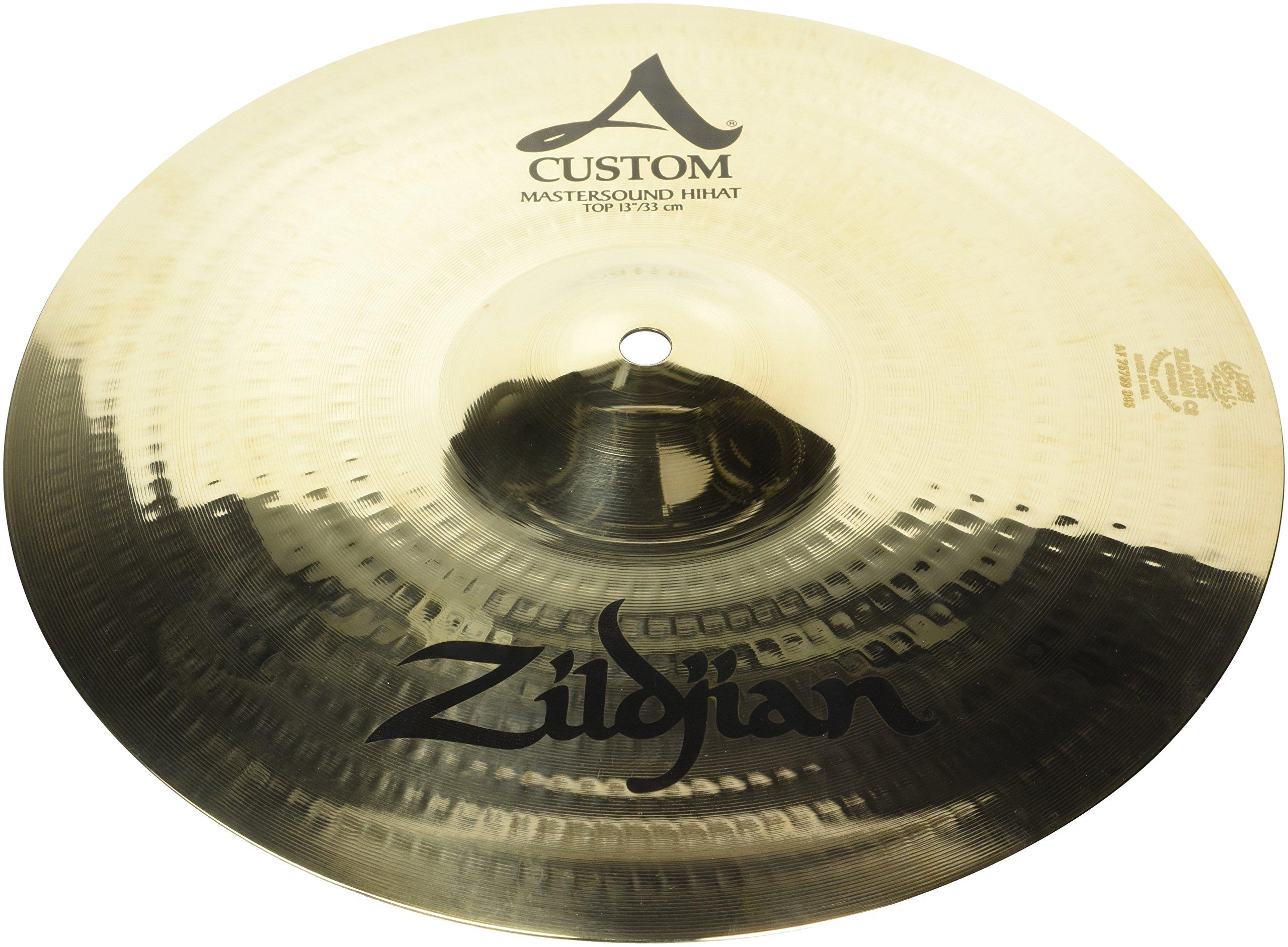 Zildjian 13'' A Custom Mastersound Hi Hat Top Cymbal
