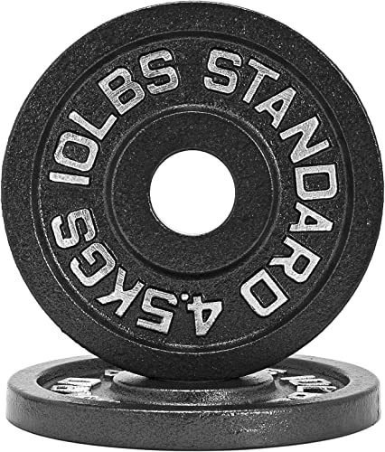 1.25lb – 45lb Iron Weight Plate Pairs Weightlifting, Powerlifting, Other Strength Training Equipment