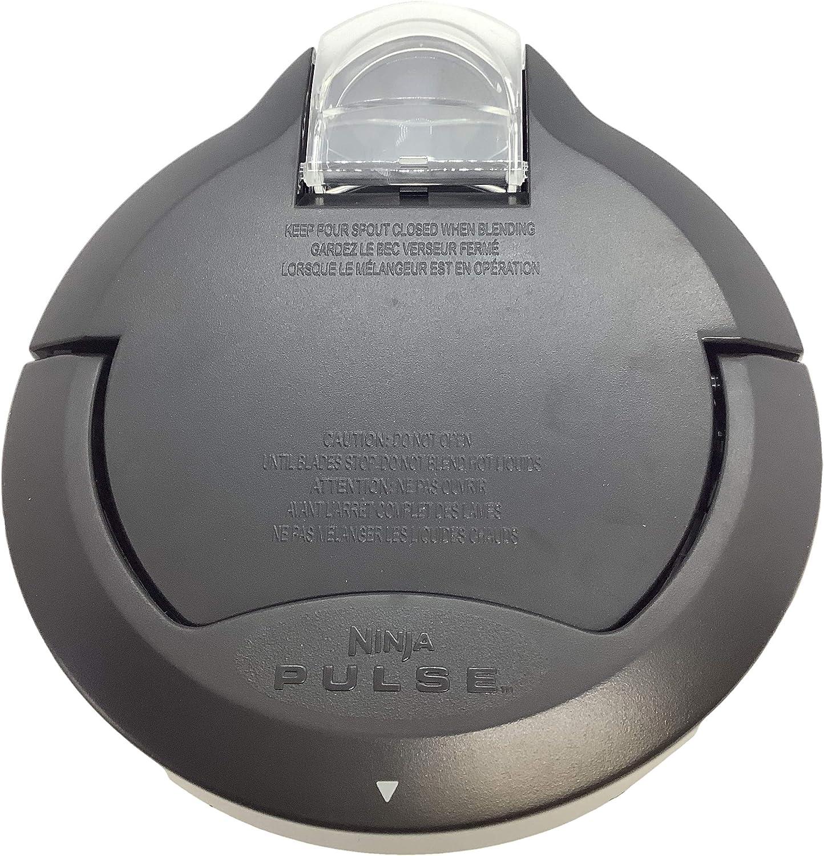 Ninja Locking Lid for 40 48-Ounce Bowl BL200 BL201 BL203 BL204 BL205 BL206 BL207 BL208 Pulse Blender, Black