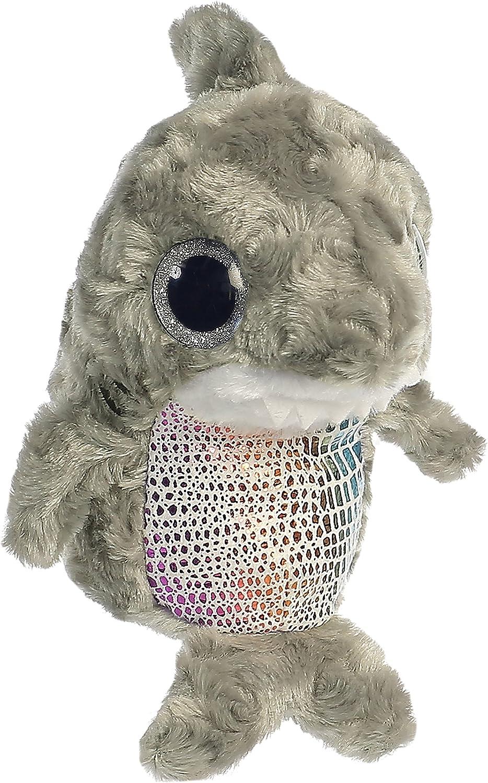 """Aurora World Plush Animal Toy, Buckee Shark, 6"""""""