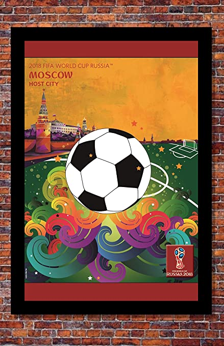 Prints USA 2018 FIFA World Cup Russia Poster Soccer Tournament