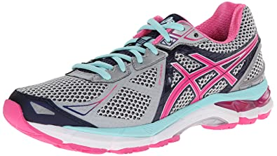 ASICS Women's GT-2000 3 Trail Running Shoe Lightning/Hot Pink/Navy 5