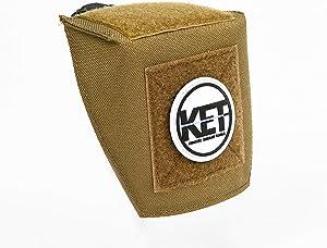 KET Brass Deflector: Brass Catcher Alternative - Scope & Pic Rail Mounts Included