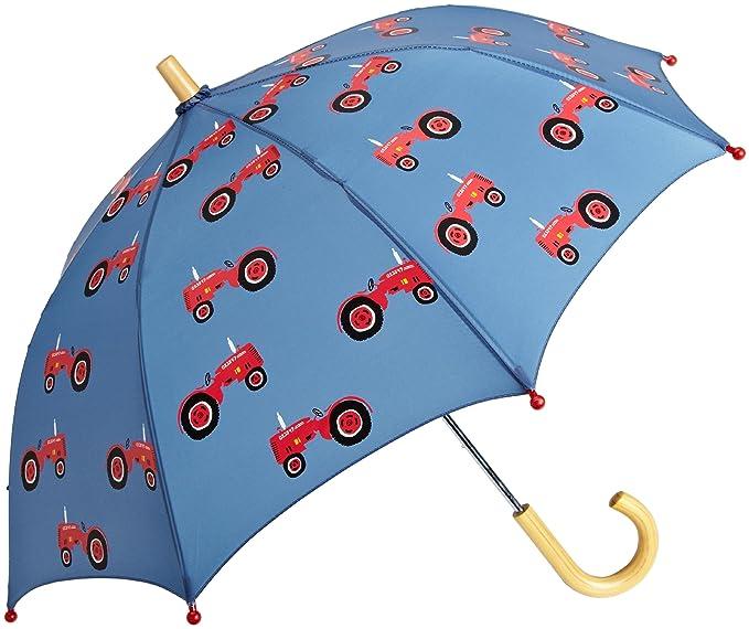 Hatley - Paraguas para niño, talla One size - talla inglesa, color azul: Amazon.es: Ropa y accesorios