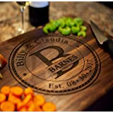 Personalized Cutting Board, USA Handmade Cutting Board - Personalized Gifts - Wedding Gifts for the Couple, Engagement Gifts,