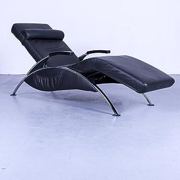 Noir Relax Chaise Cuir Fonction Recamiere Longue Fauteuil Design mn0wNOv8