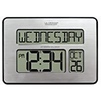 Deals on La Crosse Technology Backlight Atomic Full Calendar Clock