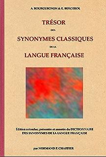 5288659f723 TRÉSOR DES SYNONYMES CLASSIQUES DE LA LANGUE FRANÇAISE  Édition refondue