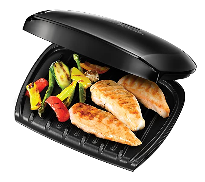 Amazon george foreman by russell hobbs 18870 5 portion family amazon george foreman by russell hobbs 18870 5 portion family grill 220 volts not for usa european cord update title kitchen dining fandeluxe Images