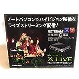 SKNET MonsterX Live HDMI入力対応ポータブルHD映像配信ユニット SK-MVXL