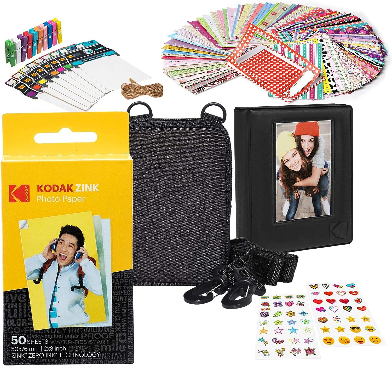 Kodak 2x3ʺ Premium Zink Paper Starter Kit with Soft Case