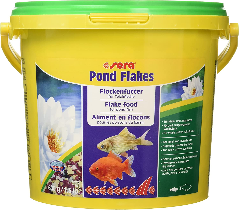 Sera Mangime in Scaglie, Pond Flakes - 3800 ml