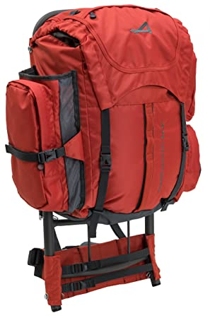 Alps Mountaineering Red Rock, External Frame Pack: Amazon.co.uk ...