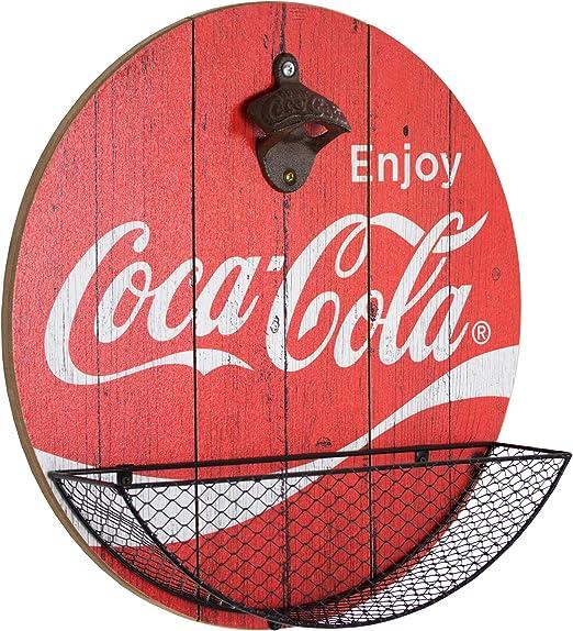 Amazon.com: Coca-Cola – Abridor de botellas y capuchón de ...
