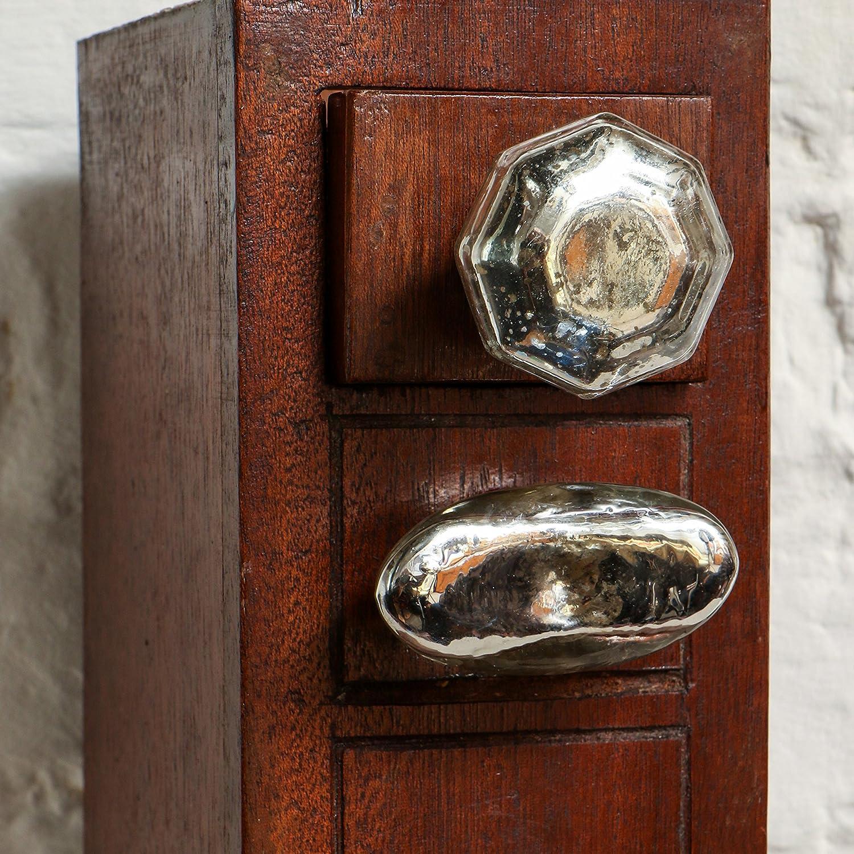 Juego de 6 perillas del caj/ón del gabinete Dorsoduro de vaso Tocador del armario de la cocina Tire de Trinca-Ferro