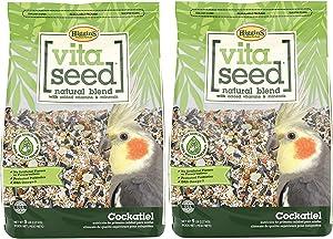 Higgins 2 Pack of Vita Seed Natural Blend Cockatiel Food, 2.5 Pounds Each