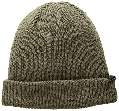 Volcom Mens Sweep Lined Beanie, Teak, ...